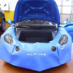 Alpine Schutzbezüge