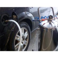 Kraftstoffabsaugung